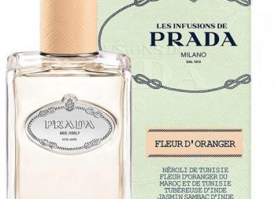 Infusion de Fleur d'Oranger - w białych rękawiczkach