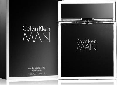 Calvin Klein MAN - mężczyzna w miętowym krawacie