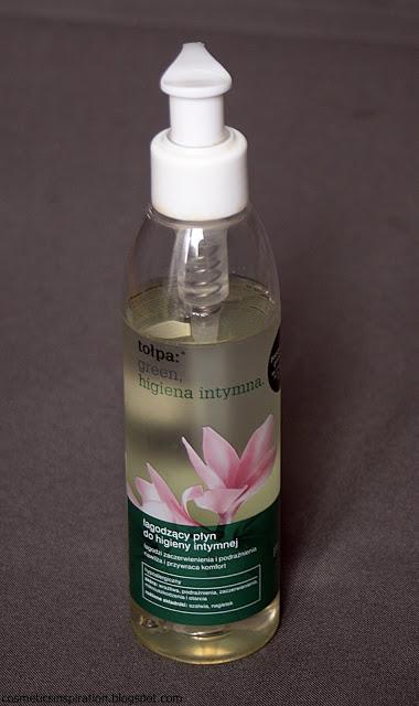 Kosmetyczne inspiracje: Tołpa Green - Łagodzący płyn do higieny intymnej
