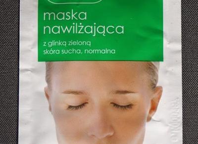 Kosmetyczne inspiracje: Ziaja - Maska nawilżająca z glinką zieloną, skóra sucha, normalna