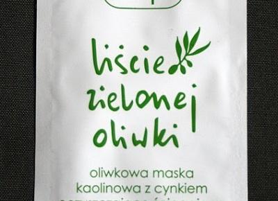 Kosmetyczne inspiracje: Ziaja - Liście zielonej oliwki - Oliwkowa maska koalinowa z cynkiem oczyszczająco - ściągająca