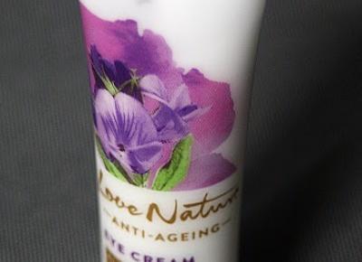 Kosmetyczne inspiracje: Oriflame - Love Nature - Przeciwstarzeniowy krem pod oczy