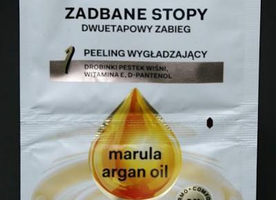 Kosmetyczne inspiracje: AA Oil Essence - Dwuetapowy zabieg na stopy peeling + maseczka