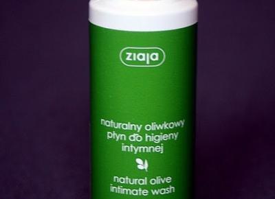 Kosmetyczne inspiracje: Ziaja - Oliwkowy płyn do higieny intymnej