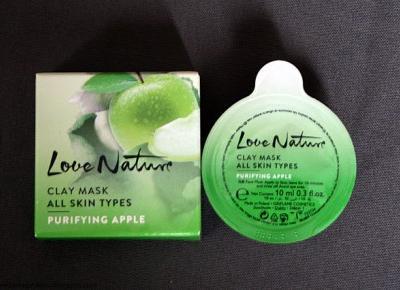 Kosmetyczne inspiracje: Ofirlame - Love Nature - Oczyszczająca maseczka glinkowa z jabłkiem