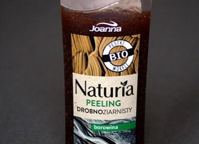 Kosmetyczne inspiracje: Joanna - Naturia - Peeling drobnoziarnisty z borowiną