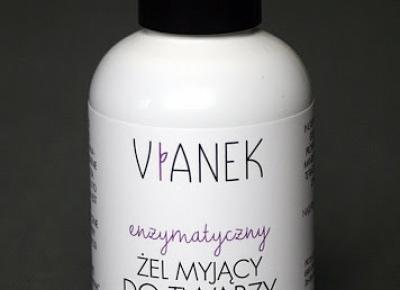 Kosmetyczne inspiracje: Sylveco - Vianek - Enzymatyczny żel myjący do twarzy z ekstratkem z owoców porzeczki