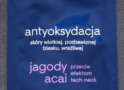 Kosmetyczne inspiracje: Ziaja - Antyoksydacja - Maseczka na twarz i szyję na noc
