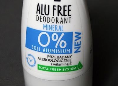 Kosmetyczne inspiracje: Oceanic AA - Alu Free - Mineralny dezodorant 0% soli aluminium
