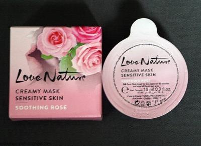 Kosmetyczne inspiracje: Oriflame - Love Nature - Kojąca maseczka z dziką różą