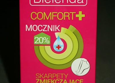 Kosmetyczne inspiracje: Bielenda - Comfort + - Skarpety zmiękczające