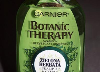 Kosmetyczne inspiracje: Garnier - Botanic Therapy - Szampon do włosów zielona herbata