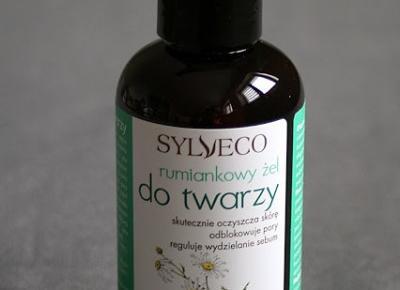 Kosmetyczne inspiracje: Sylveco - Rumiankowy żel do mycia twarzy