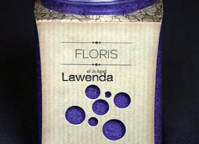 Kosmetyczne inspiracje: Floris - Sól bocheńska do kąpieli - Lawenda