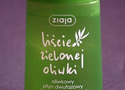 Kosmetyczne inspiracje: Ziaja - Liście zielonej  oliwki - Dwufazowy płyn do demakijaży oczu i ust