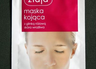 Kosmetyczne inspiracje: Ziaja - Maska kojąca z glinką różową do skóry wrażliwej