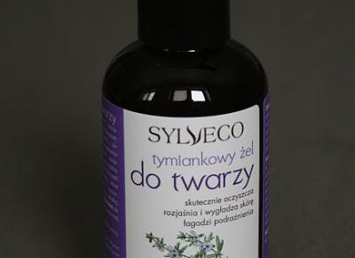 Kosmetyczne inspiracje: Sylveco - Tymiankowy żel do mycia twarzy
