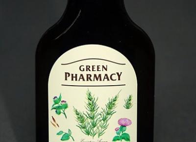 Kosmetyczne inspiracje: Elfa Pharm - Green Pharmacy - Olejek łopianowy ze skrzypem polnym