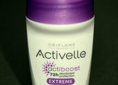Kosmetyczne inspiracje: Oriflame -  Activelle Extreme - Dezodorant antyperspiracyjny