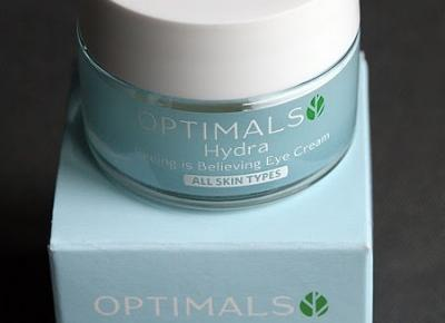 Kosmetyczne inspiracje: Oriflame - Optimals Hydra - Krem pod oczy Seeing is Believing
