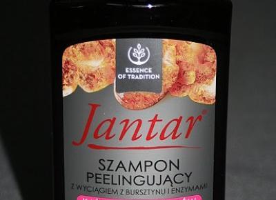 Kosmetyczne inspiracje: Farmona - Jantar - Szampon peelingujący