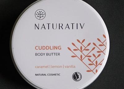 Kosmetyczne inspiracje: Naturativ - Otulające masło do ciała