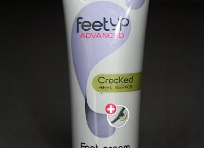 Kosmetyczne inspiracje: Oriflame - Feet Up Advanced - Krem na pękające pięty