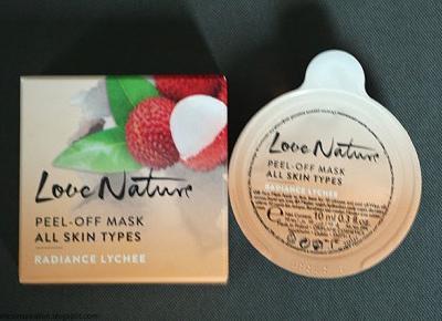 Kosmetyczne inspiracje: Oriflame - Love  Nature - Maseczka dodająca promienności z liczi