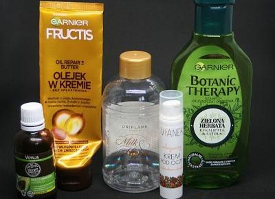 Kosmetyczne inspiracje: Kosmetyczne zużycia - DENKO 8/2019