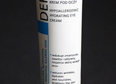 Kosmetyczne inspiracje: Ideepharm - Dermacos - Hipoalergiczny nawilżający krem pod oczy