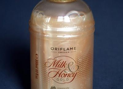 Kosmetyczne inspiracje: Oriflame - Milk & Honey Gold - Kremowy płyn do kąpieli