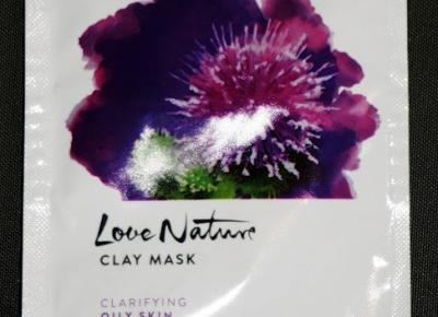 Kosmetyczne inspiracje: Oriflame - Love Nature - Oczyszczająca maseczka z łopianem