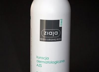 Kosmetyczne inspiracje: Ziaja Med - Kuracja dermatologiczna AZS - Natłuszczający olejek myjący do kąpieli i pod prysznic