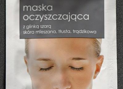 Kosmetyczne inspiracje: Ziaja - Maska oczyszczająca z glinką szarą