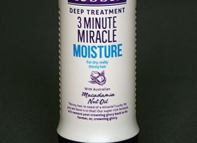 Kosmetyczne inspiracje: Aussie - 3 Minutes Miracle Moisture - Intensywna odżywka do włosów suchych Macadamia Nut Oil