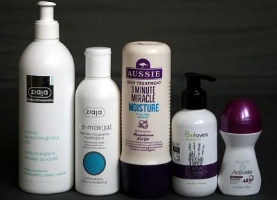 Kosmetyczne inspiracje: Kosmetyczne zużycia - DENKO 10/2018