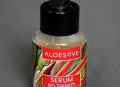 Kosmetyczne inspiracje: Sylveco - Aloesove - Serum do twarzy