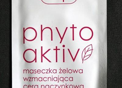 Kosmetyczne inspiracje: Ziaja - Phytoaktiv - Żelowa maseczka wzmacniająca do cery naczynkowej