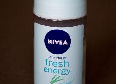 Kosmetyczne inspiracje: Nivea - Antyperspirant Fresh Energy