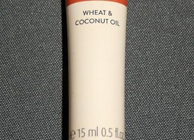 Kosmetyczne inspiracje: Oriflame - Love Nature - Olejek na gorąco z pszenicą i kokosem do suchych włosów