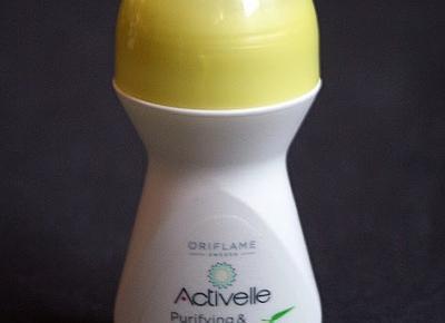 Kosmetyczne inspiracje: Oriflame - Activelle - Dezodorant antyperspiracyjny 48h w kulce Purifying & Protecting