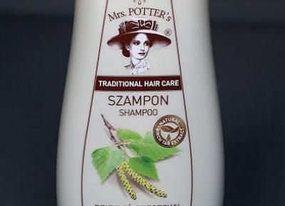 Kosmetyczne inspiracje: Forte Sweden - Mrs Potter's - Szampon przeciwłupieżowy z dziegciem