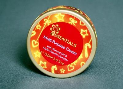 Kosmetyczne inspiracje: Oriflame - Essentials - Krem do twarzy i ciała z olejkiem migdałowym i kompleksem witamin
