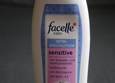 Kosmetyczne inspiracje: Rossmann - Facelle Intim Sensitive - Płyn do higieny intymnej