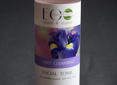 Kosmetyczne inspiracje: Eco Laboratorie - Tonik do skóry tłustej i problematycznej, głęboko oczyszczający