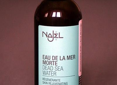 Kosmetyczne inspiracje: Najel - Woda z Morza Martwego