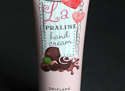 Kosmetyczne inspiracje: Oriflame - Krem do rąk La Praline