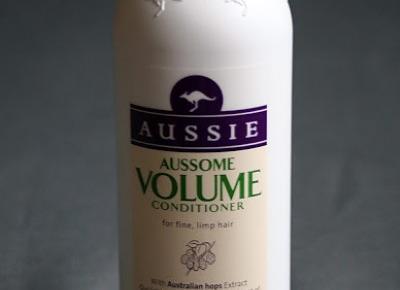Kosmetyczne inspiracje: Aussie - Aussome Volume - Odżywka dodająca objętości do włosów cienkich i słabych