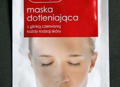 Kosmetyczne inspiracje: Ziaja - Maska dotleniająca z glinką czerwoną