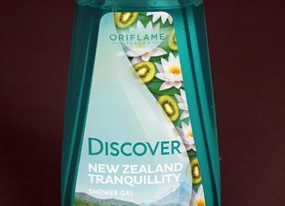 Kosmetyczne inspiracje: Oriflame - Discover New Zealand Tranquillity - Żel pod prysznic
